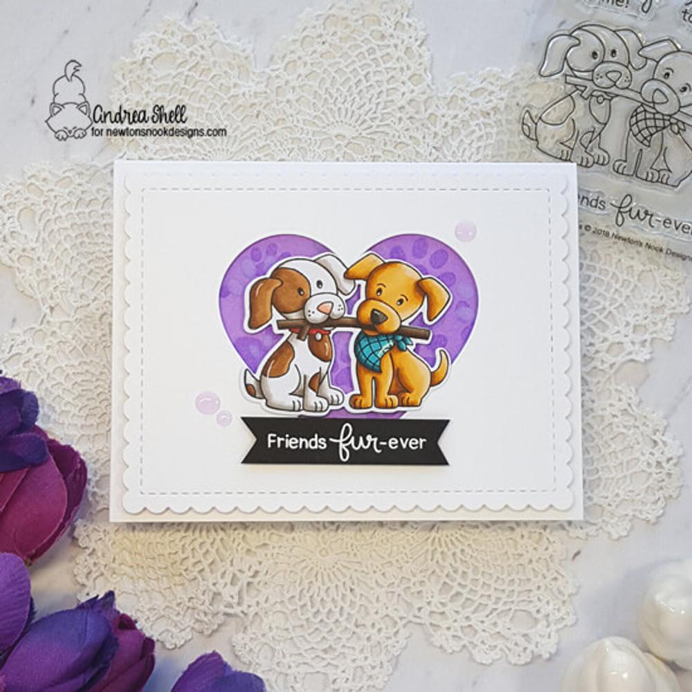 Puppy Pals Stamp Set ©2019 Newton's Nook Designs