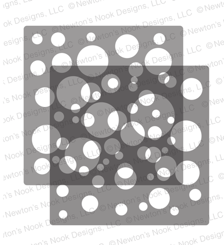 Bokeh Stencil Set ©2019 Newton's Nook Designs