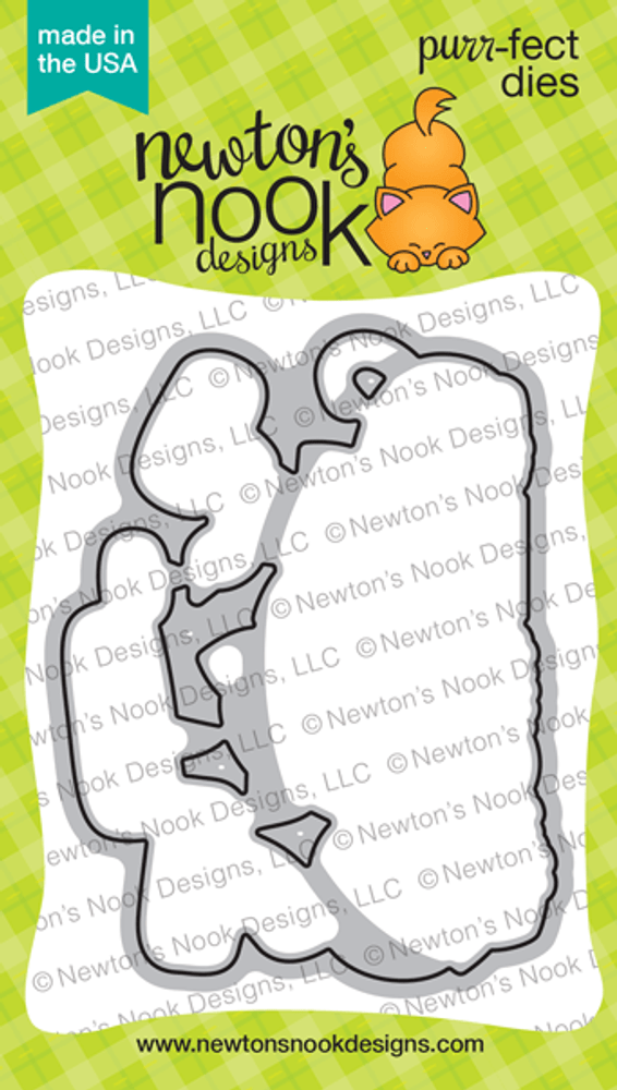 Newton's Birthday Trio Die Set ©2019 Newton's Nook Designs