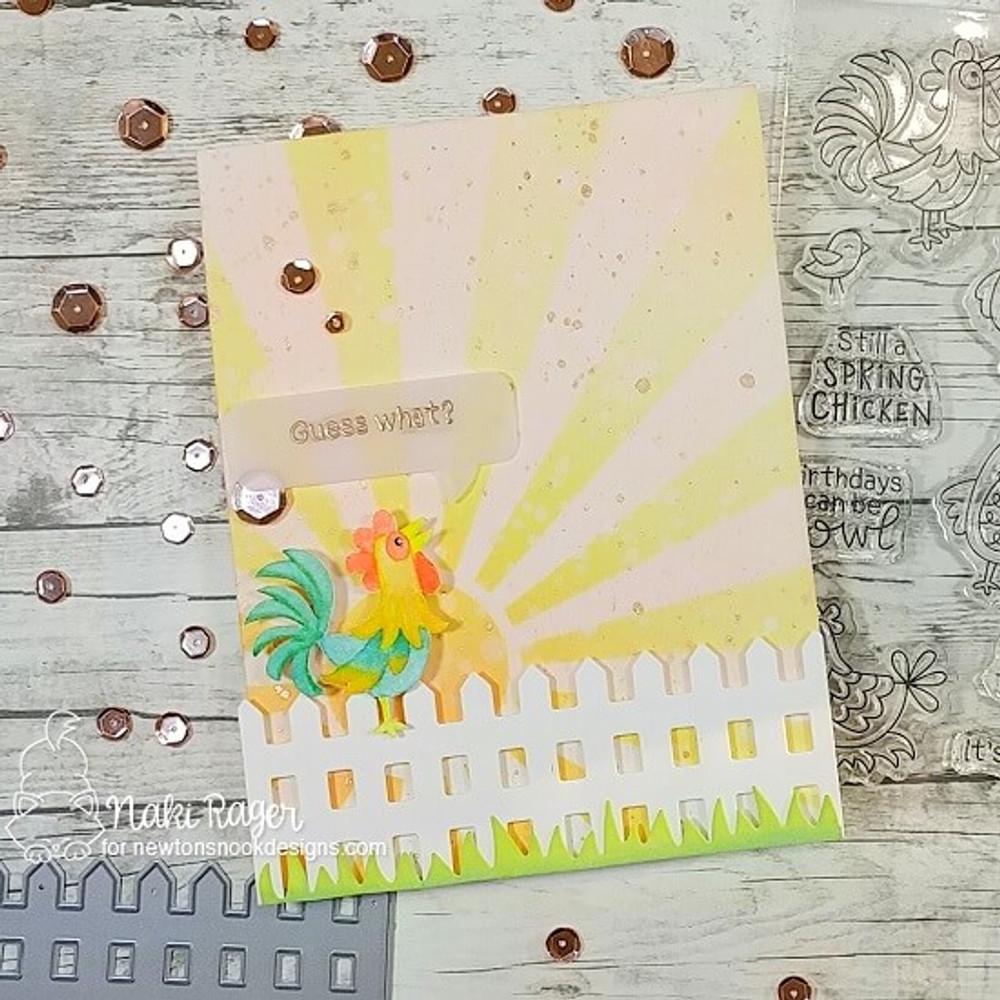Cluck Stamp Set ©2019 Newton's Nook Designs