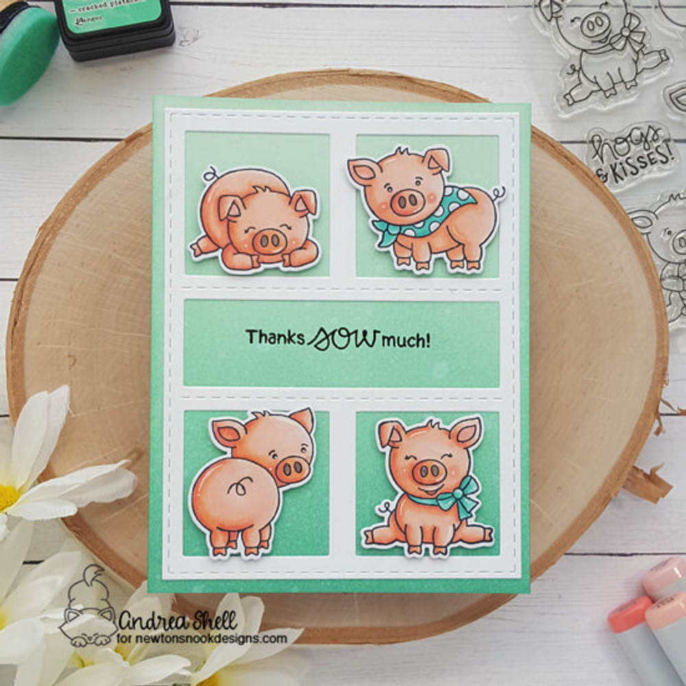 Oink Stamp Set ©2019 Newton's Nook Designs