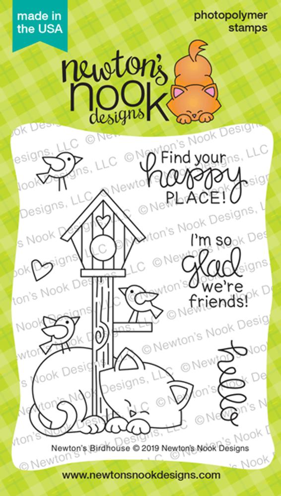 Newton's Birdhouse Stamp Set ©2019 Newton's Nook Designs