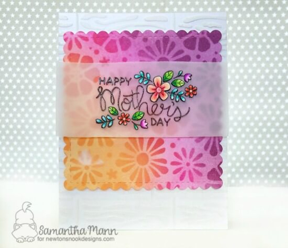 Mother's Day Stamp Set ©2019 Newton's Nook Designs