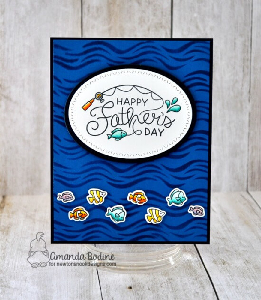 Father's Day Stamp Set ©2019 Newton's Nook Designs