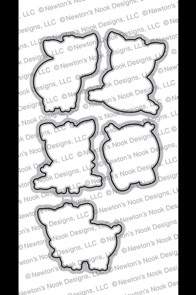 Oink Die Set ©2019 Newton's Nook Designs