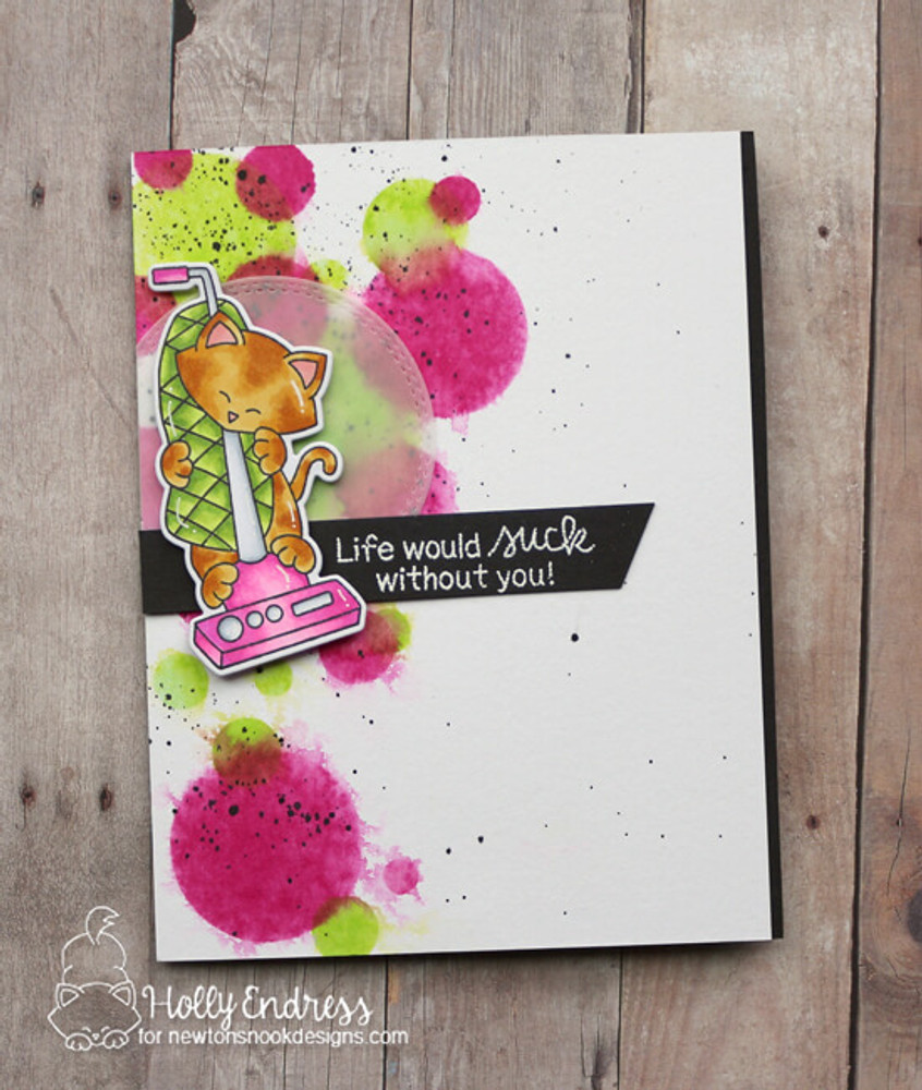 Newton Cleans Up Stamp Set ©2019 Newton's Nook Designs