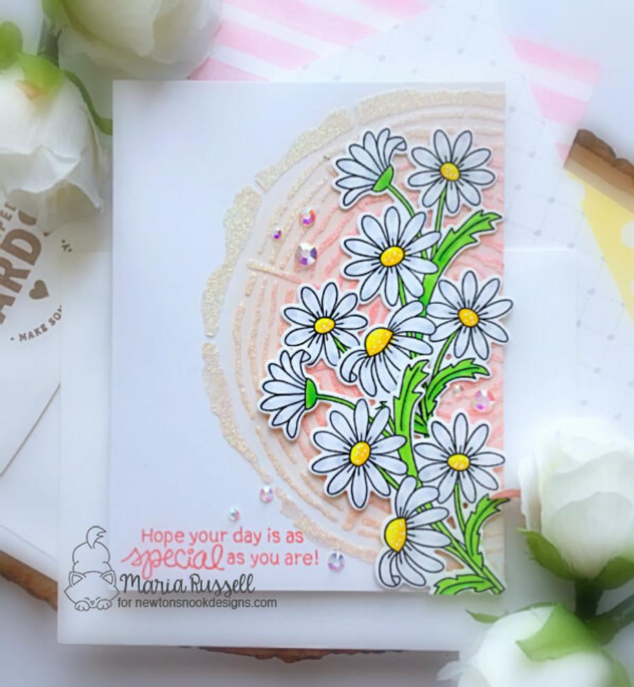 Dainty Daisies Stamp Set ©2019 Newton's Nook Designs