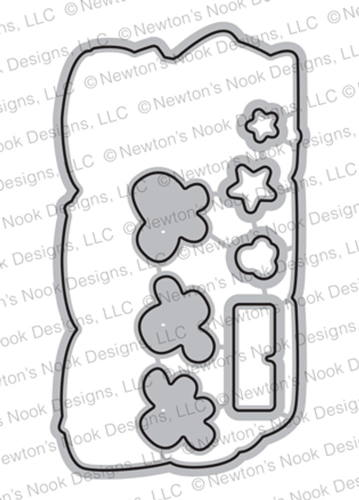 Newton's Movie Night Die Set ©2019 Newton's Nook Designs
