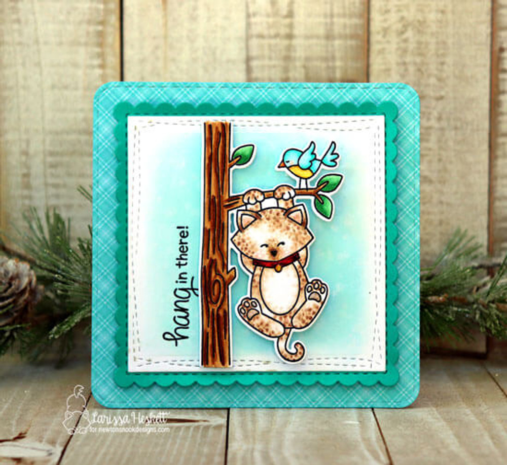 Newton Hangs Out Stamp Set ©2019 Newton's Nook Designs