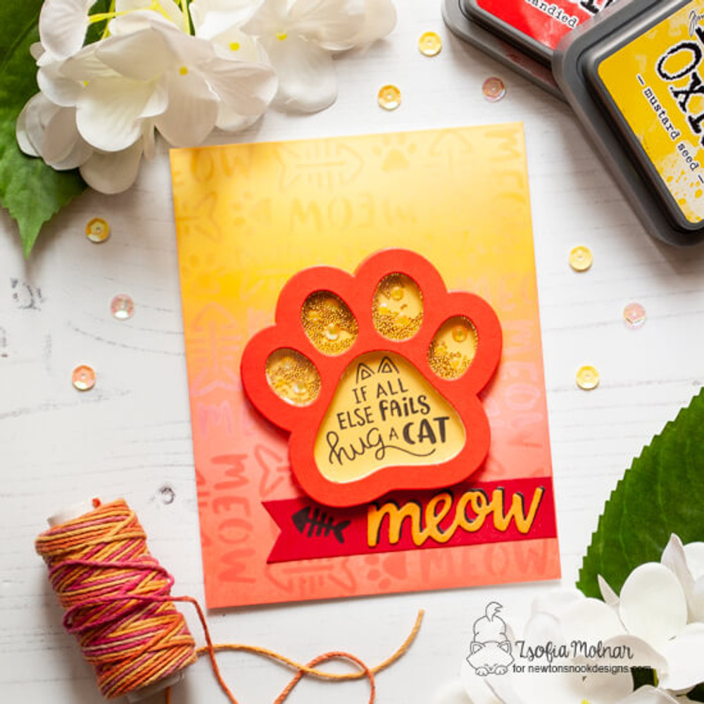 Cat-itude Stamp Set ©2019 Newton's Nook Designs