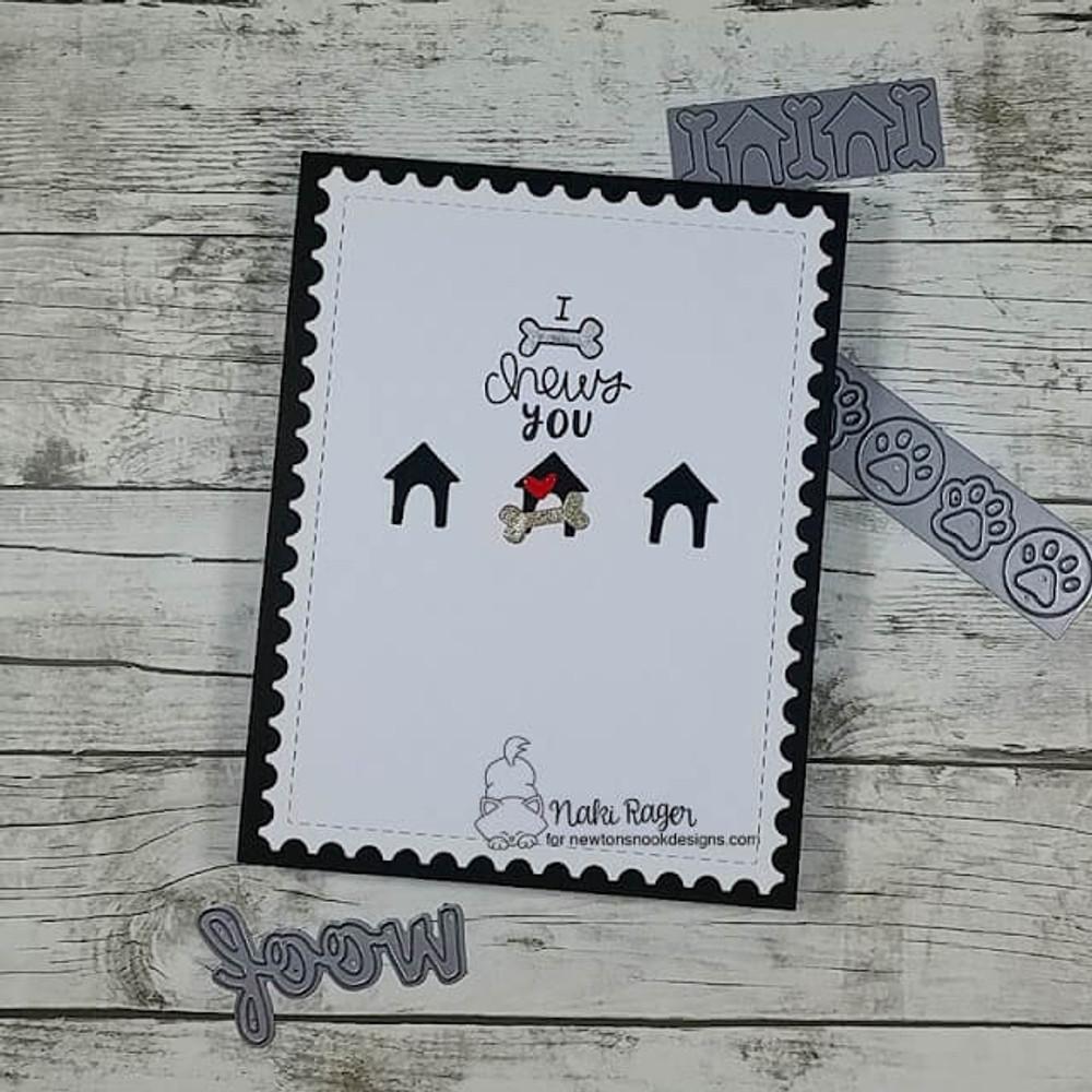 Say Woof Stamp Set ©2019 Newton's Nook Designs