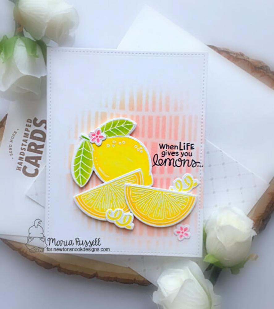 Lemon Twist Stamp Set ©2019 Newton's Nook Designs