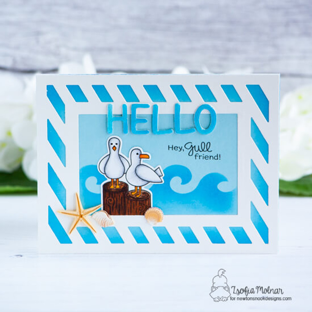 Gull Friends Stamp Set ©2019 Newton's Nook Designs