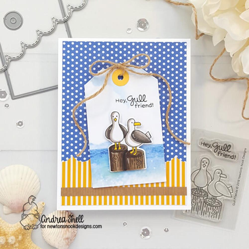 Gull Friends Stamp Set ©2019 Newton's Nook Designs