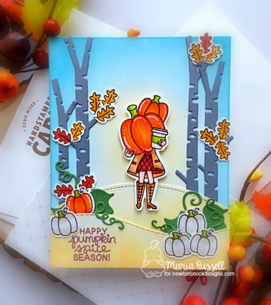 Pumpkin Latte Stamp Set ©2019 Newton's Nook Designs