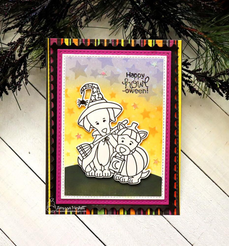 Happy Howl-oween Stamp Set ©2019 Newton's Nook Designs