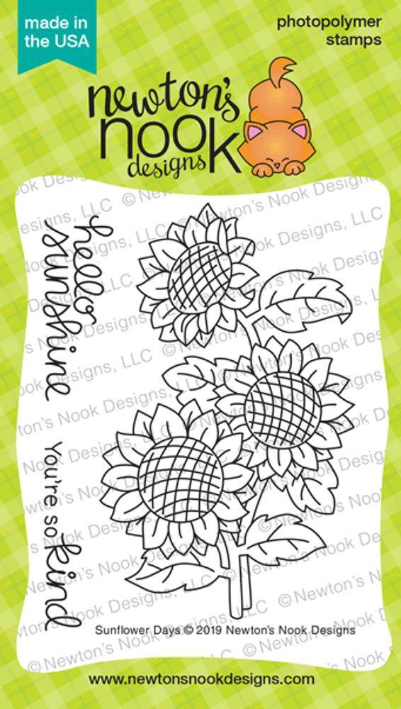 Sunflower Days Stamp Set ©2019 Newton's Nook Designs