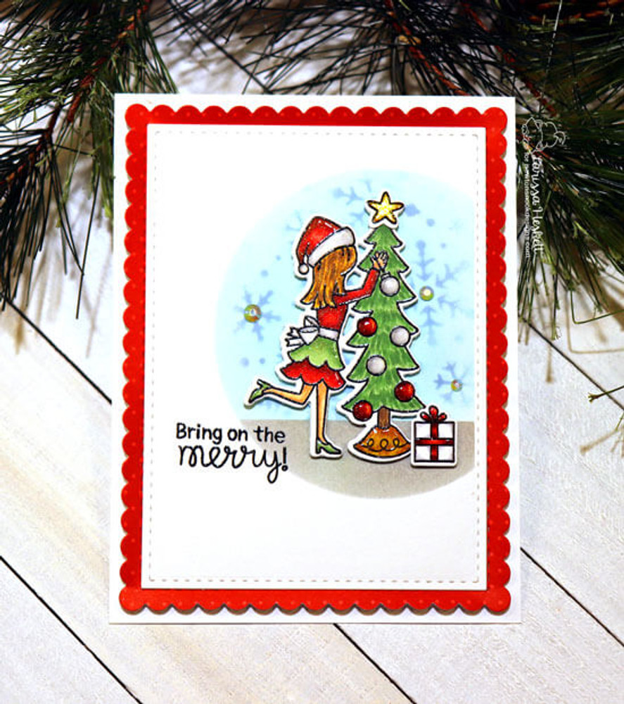 Christmas Trimmings Stamp Set ©2019 Newton's Nook Designs