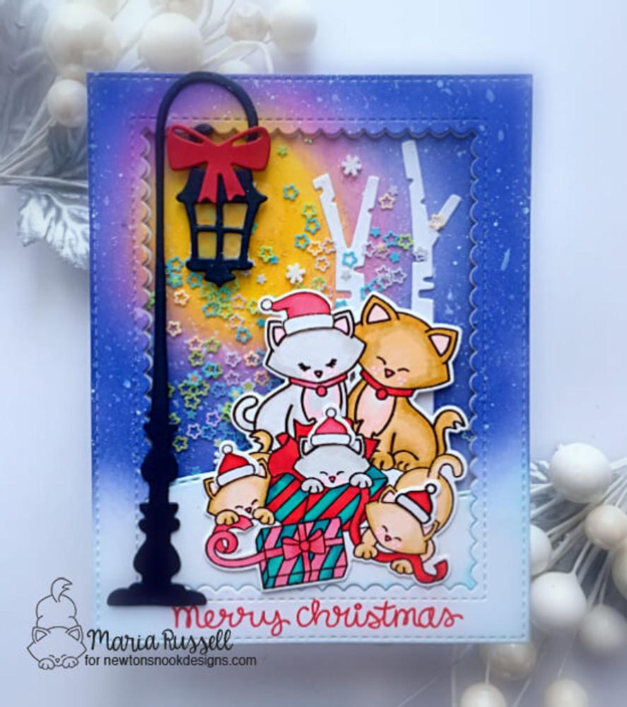 Newton's Christmas Kittens Stamp Set ©2019 Newton's Nook Designs