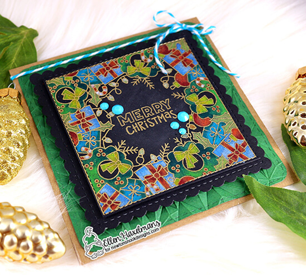 Holiday Fringe Stamp Set ©2019 Newton's Nook Designs