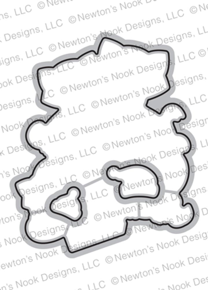 Newton's Christmas Kittens Die Set ©2019 Newton's Nook Designs