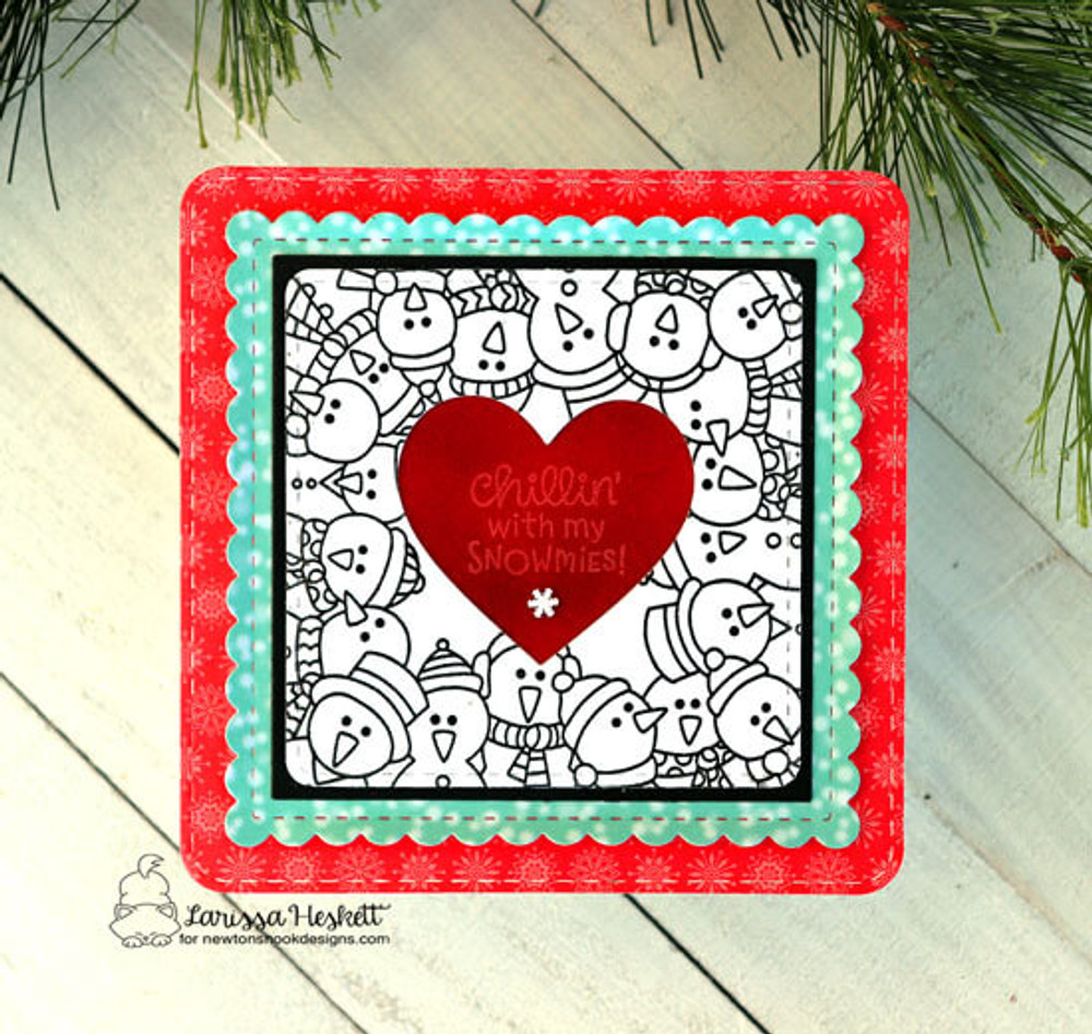 Snowman Party Stamp Set ©2019 Newton's Nook Designs