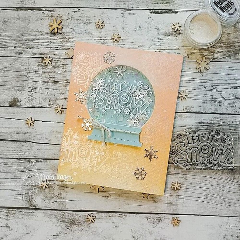 Let It Snow Stamp Set ©2019 Newton's Nook Designs