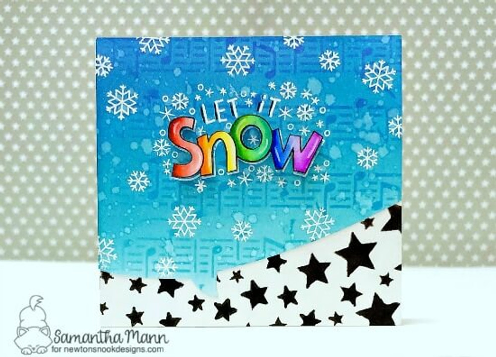Let It Snow Stamp Set ©2019 Newton's Nook Designs