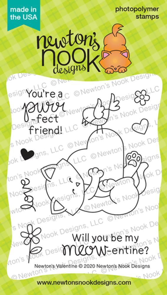 Newton's Valentine Stamp Set ©2020 Newton's Nook Designs