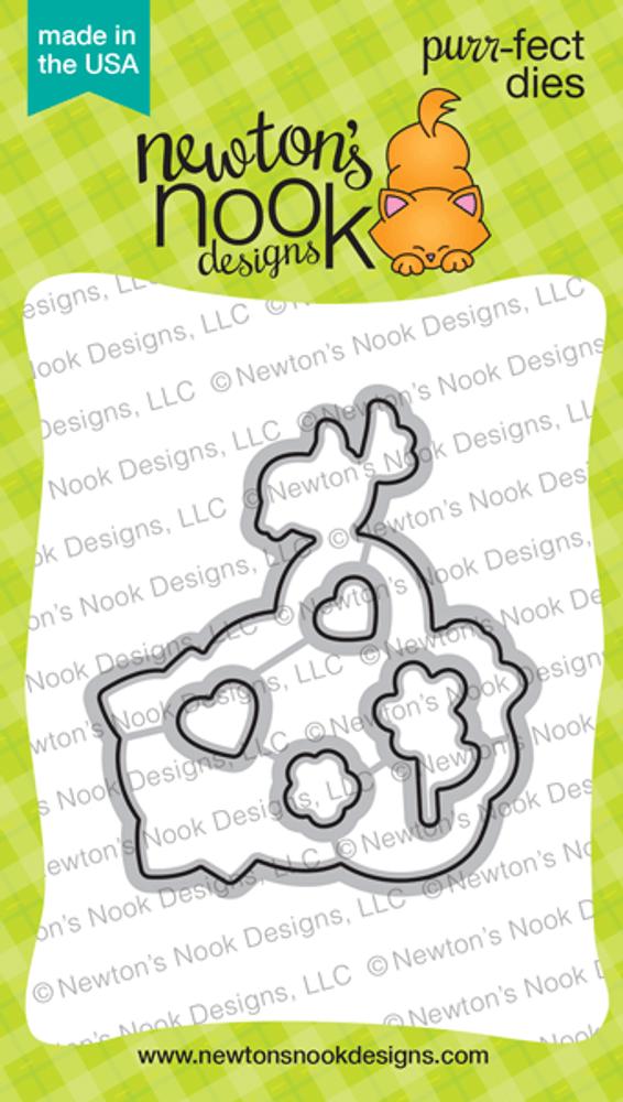 Newton's Valentine Die Set ©2020 Newton's Nook Designs