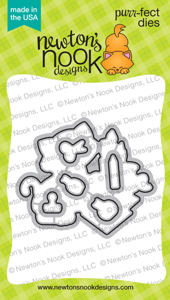 Newton's Crafty Cardio Die Set ©2020 Newton's Nook Designs