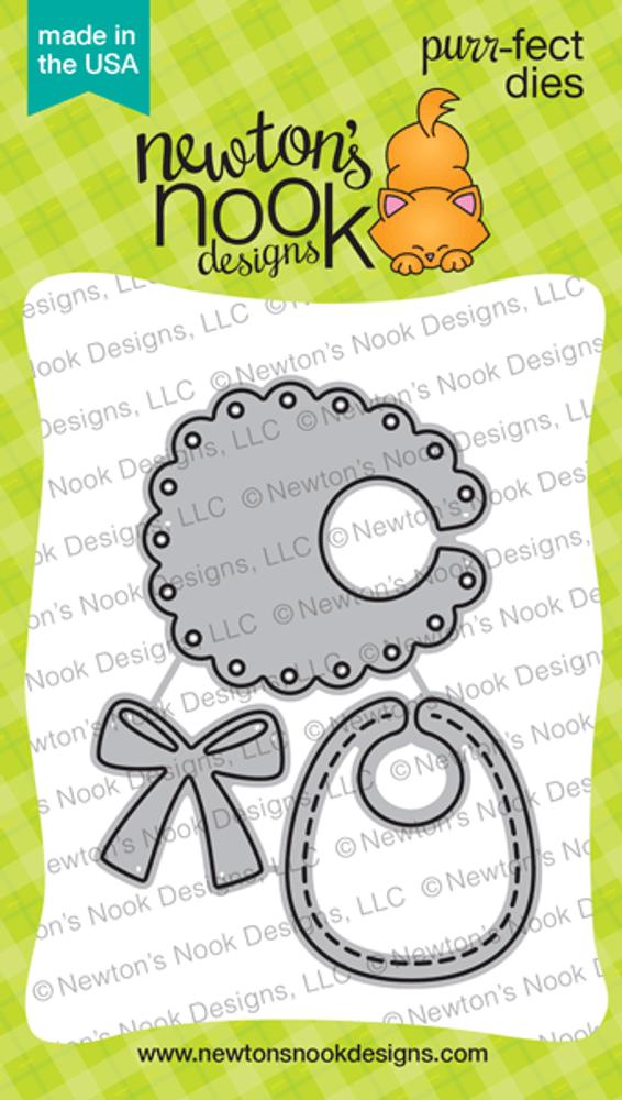 Baby Bib Die Set ©2020 Newton's Nook Designs