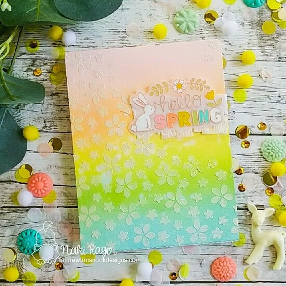 Hello Spring Stamp Set ©2020 Newton's Nook Designs