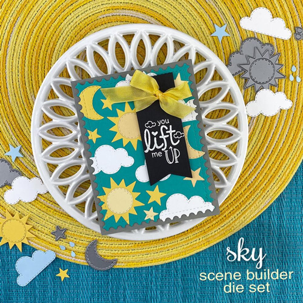 Sky Scene Builder Die Set ©2020 Newton's Nook Designs