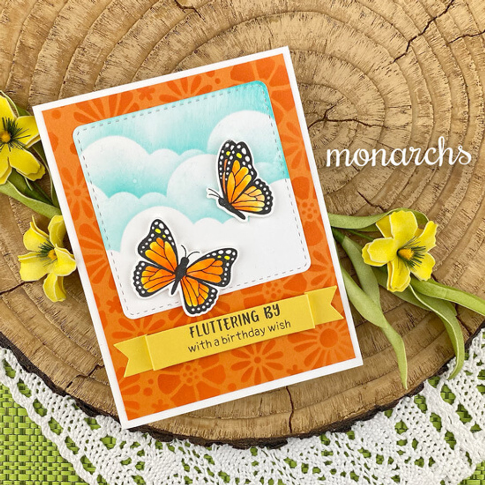 Monarchs Stamp Set ©2020 Newton's Nook Designs