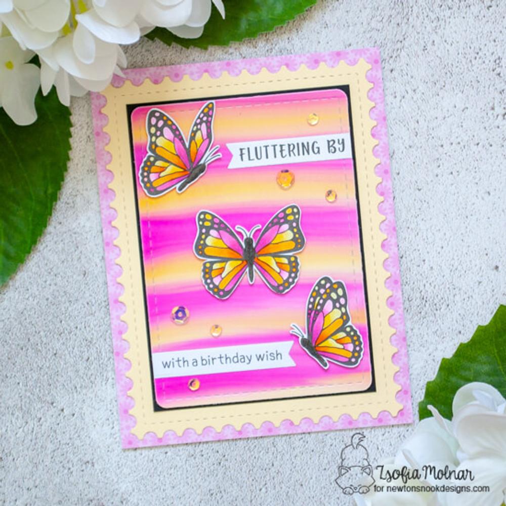 Monarchs Stamp Set ©2020 Newton's Nook Designs
