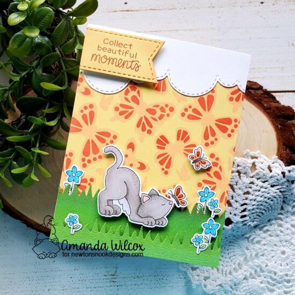 Newton's Flower Garden Stamp Set ©2020 Newton's Nook Designs