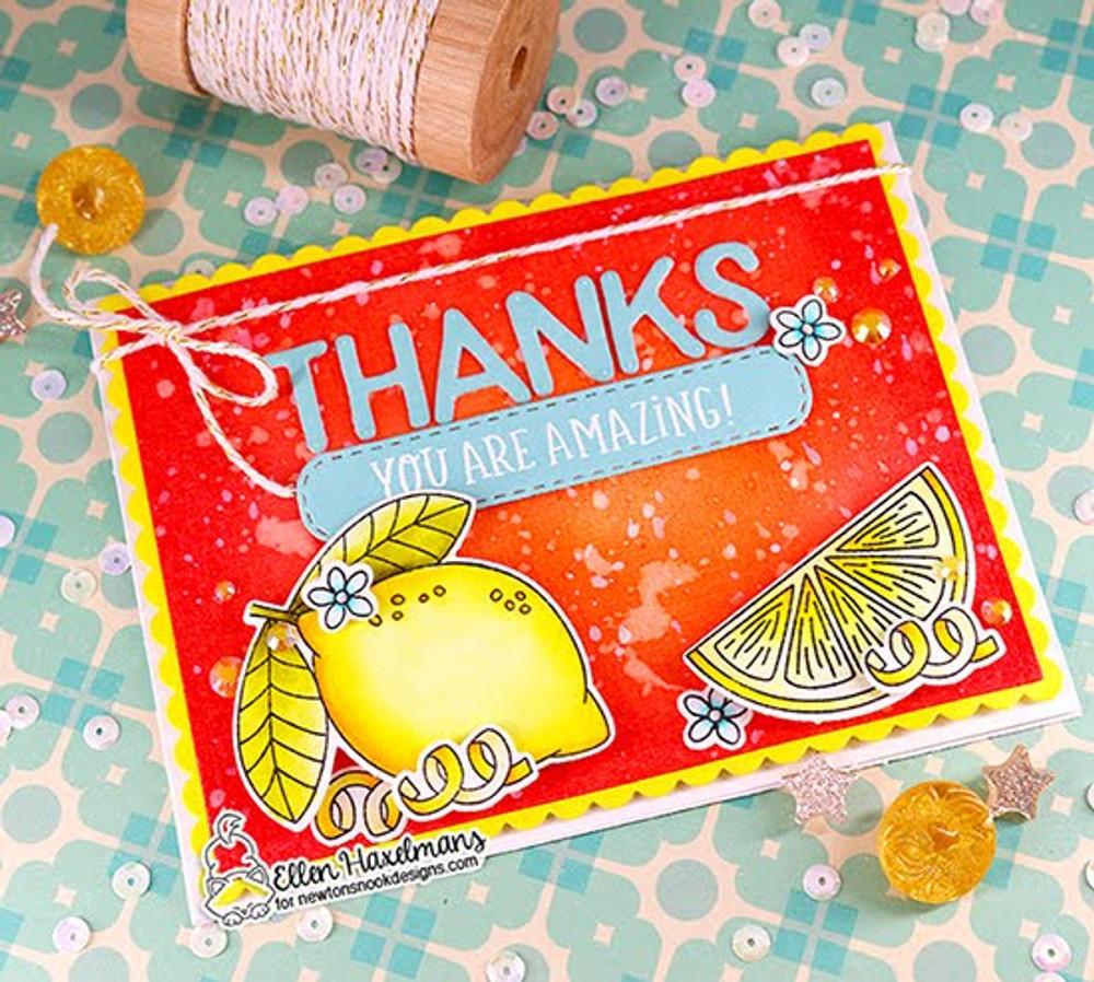 Banner Trio Die Set ©2020 Newton's Nook Designs
