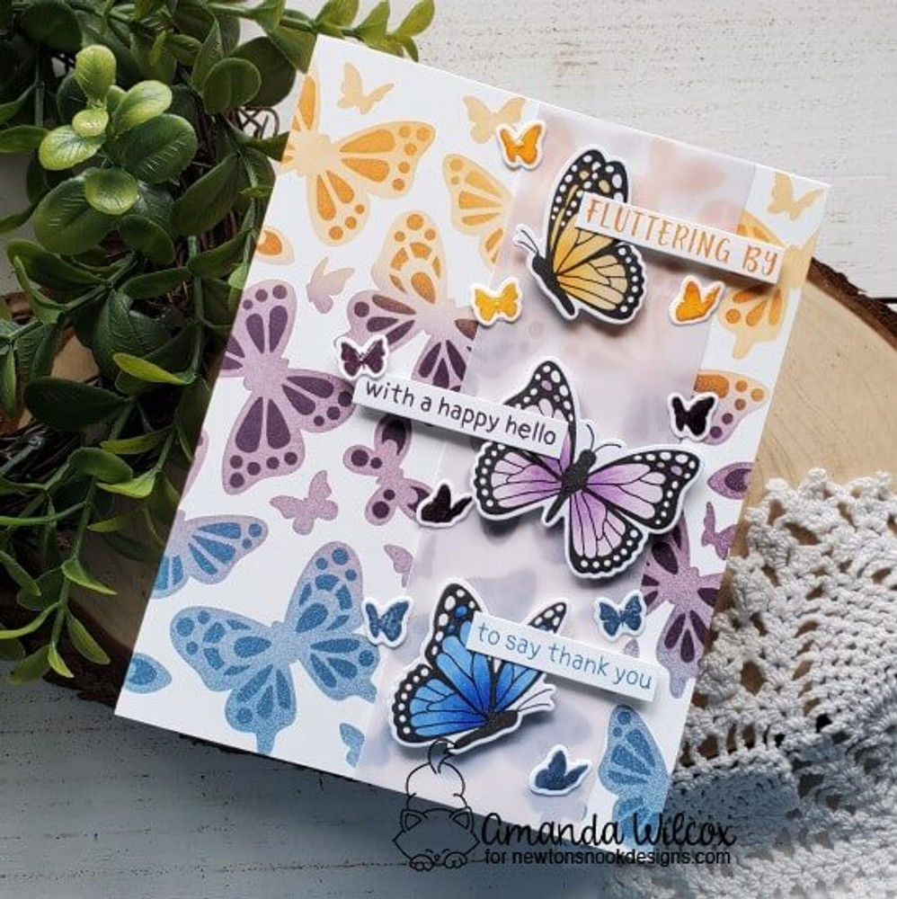 Butterflies Stencil Set