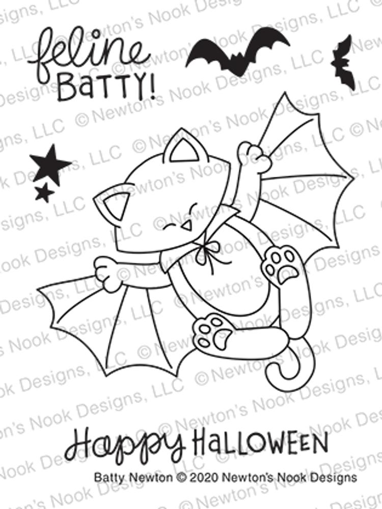 Batty Newton Stamp Set ©2020 Newton's Nook Designs