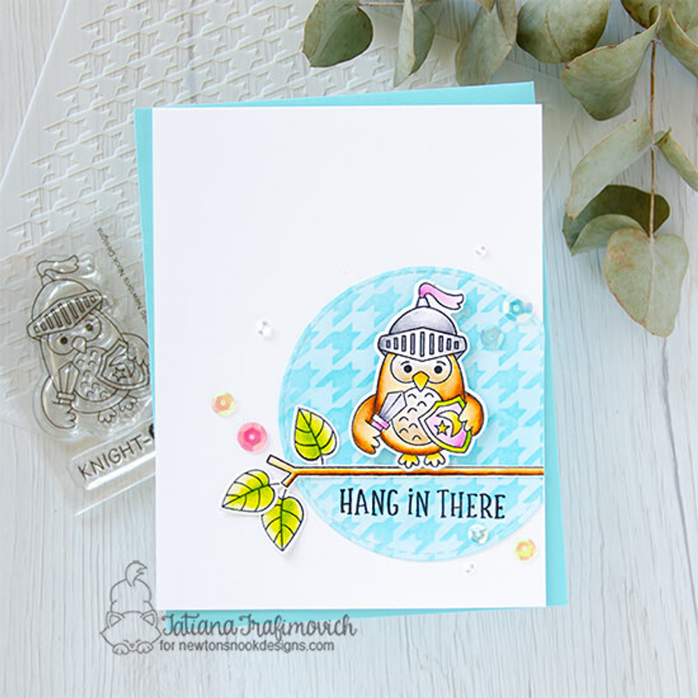 Knight Owl Stamp Set ©2020 Newton's Nook Designs