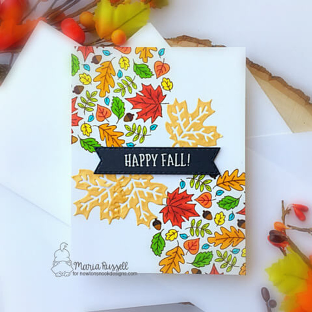 Fall Roundabout Stamp Set ©2020 Newton's Nook Designs
