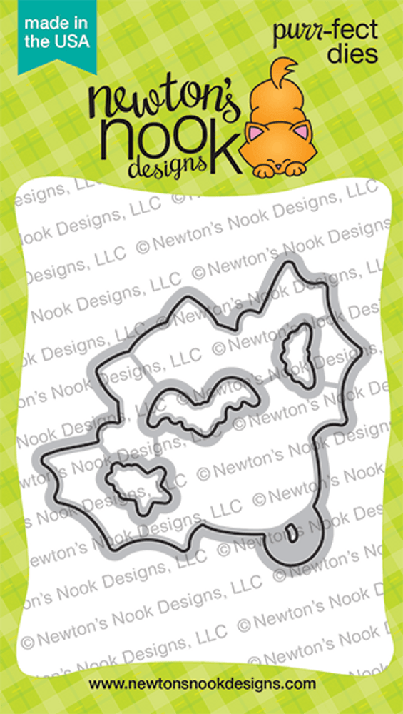 Batty Newton Die Set ©2020 Newton's Nook Designs