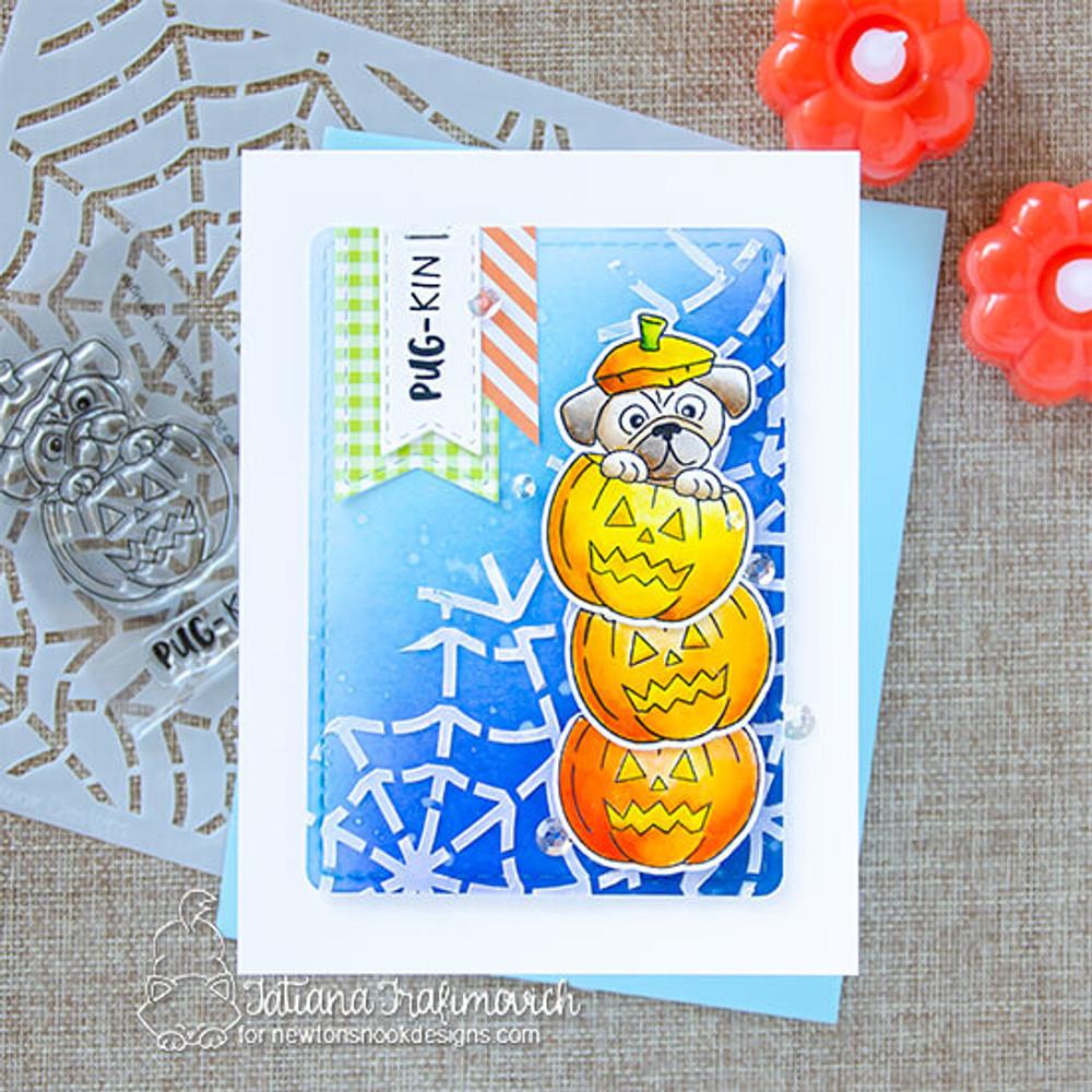 Spiderweb Stencil ©2020 Newton's Nook Designs