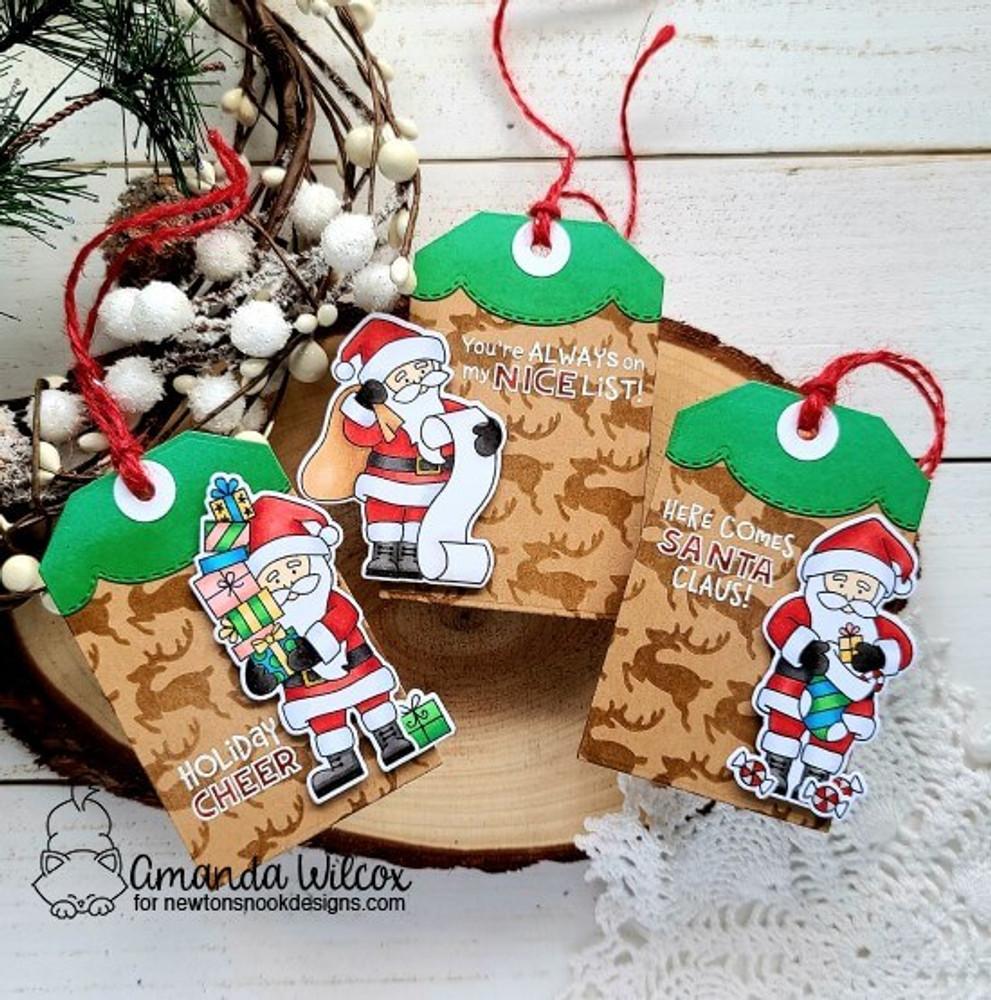 Dear Santa Stamp Set ©2020 Newton's Nook Designs