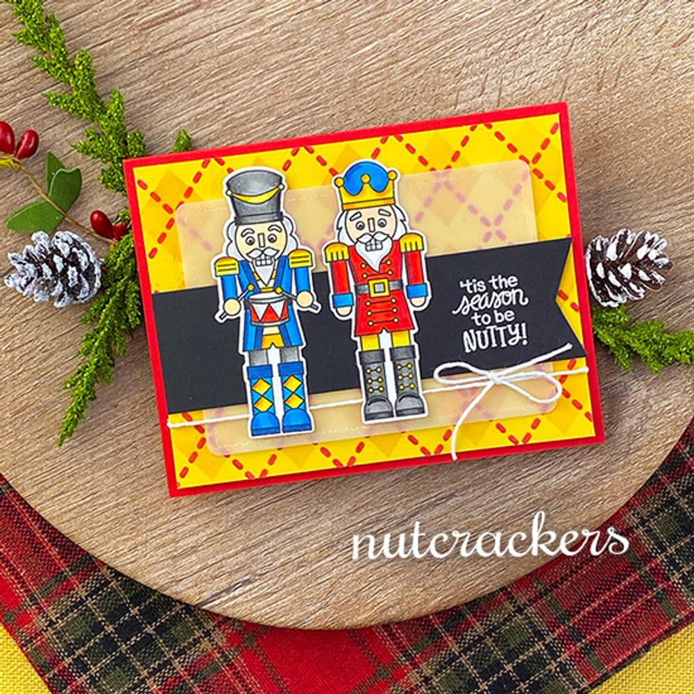 Nutcrackers Stamp Set ©2020 Newton's Nook Designs