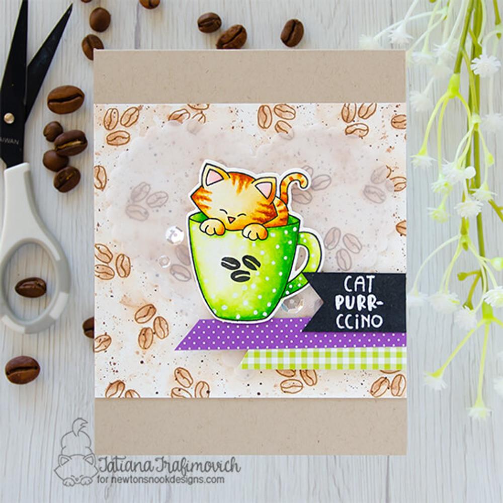 Newton's Mug Stamp Set ©2021 Newton's Nook Designs