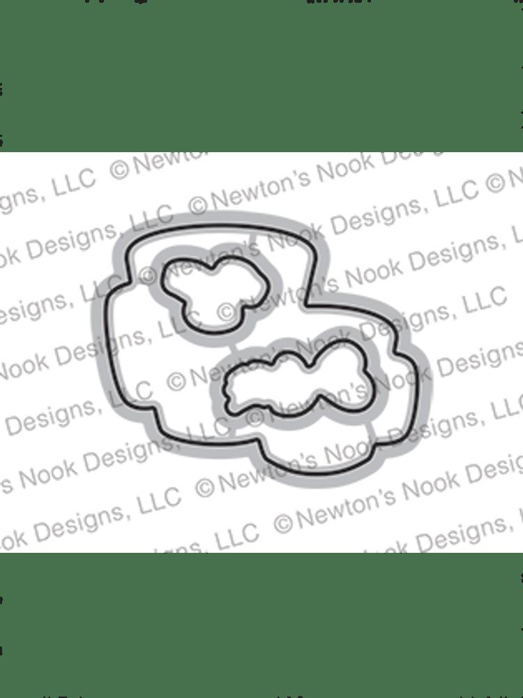 Love Café Die Set ©2021 Newton's Nook Designs