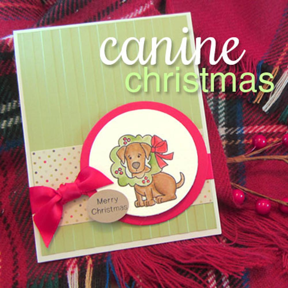 Canine Christmas Stamp Set ©2013 Newton's Nook Designs