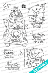 Winston's Home for Christmas | 4x6 photopolymer Stamp Set | ©2014 Newton's Nook Designs